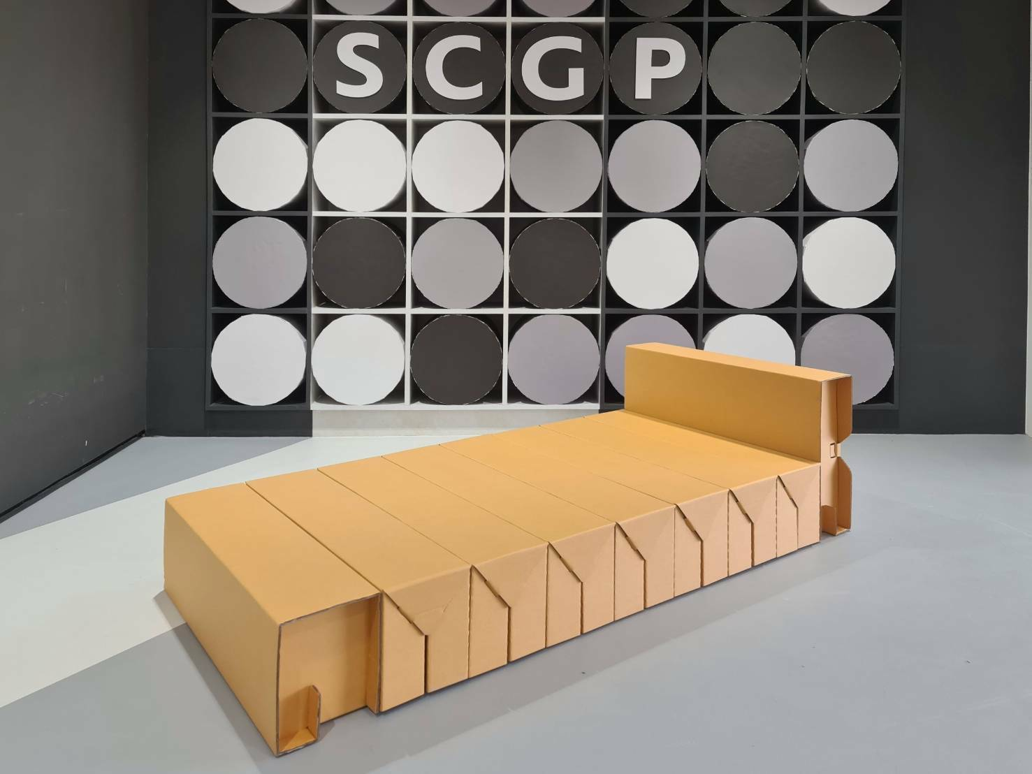 นวัตกรรมเพื่อสังคม เตียงกระดาษเอสซีจีพี 1